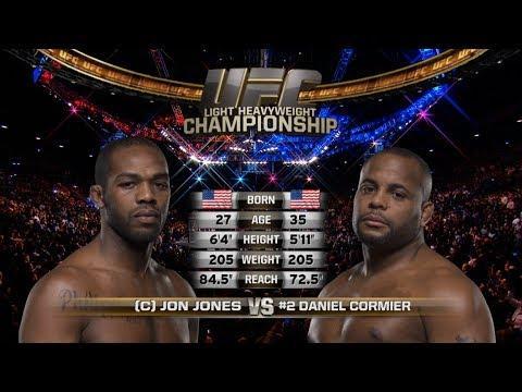 Embedded thumbnail for UFC 214 Free Fight: Jon Jones vs Daniel Cormier 1